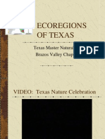 Eco Regions of Texas_Texas Master Naturalists Brazos Valley Chapter