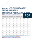 Texas Title Insurance Premium Rates as of 7-25-11 (1)