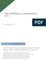 presentación Plan de marketing y Com