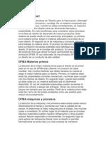 ¿Qué es DFMA