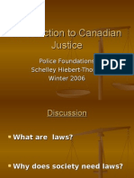 Introduction to Canadian Justice