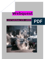Webquest-contaminación ambiental
