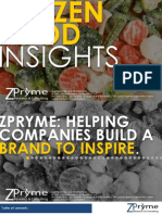 [Frozen Food Market Research] Frozen Food Insights - Zpryme Research - July 2011