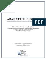 Arab Attitudes 2011 They Don't Like Obama