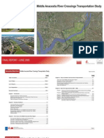 Middle Anacostia River Crossings Transportation Study Final Report 2005