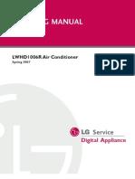 LG LWHD1006R Training Manual