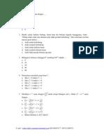 Soal Olimpiade Matematika SMA Tingkat Nasional Dan Pembahasannya