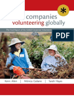 Global Companies Volunteering Globally