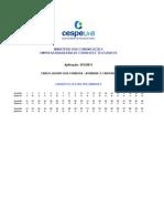 Gab Preliminar COR Tipo 1 Carteiro