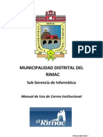 Manual Correo Institucional MDR