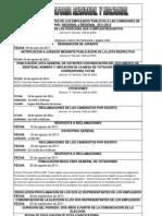 2011 07 21 Convocatoria elecciones Comisión de Personal