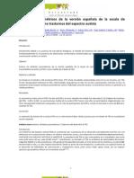 Atributos psicométricos de la versión española de la escala de cribado A