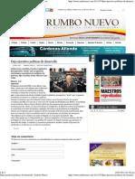 25-07-11 Dejo ejecutivo políticas de desarrollo