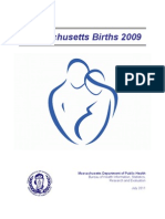 Massachusetts Births 2009