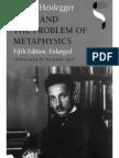 Heidegger_Kant and the Problem of Metaphysics