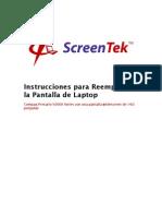 9623 Compaq-Presario V2000-Series Instrucciones Reemplazo Pantalla