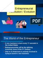 Chapt 1-Entrepreneurial Revolution