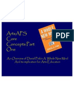 artsaps core concepts 1 - daniel pinks a whole new mind
