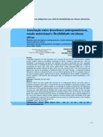 Descritores antropométricos, estado nutricional e flexibilidade em idosas. Truccolo 2011
