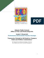 5th grade visual arts performance assessment 2011 final