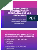 A Normal Ida Des Cualitativas y Cuantitativas de Los Leucocitos