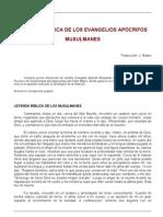 Apocrf - Leyenda b¡blica de los Evangelios apoctifos musulmanes