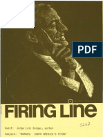 Firing Line. Borges