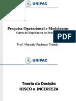 PO_Teoria da Decisão_INCERTEZA