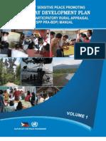 Conflict Sensitive Peace Promoting Participatory Rural Appraisal Barangay Development Plan Manual Volume1