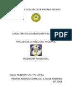 Carac. demograficas Mex