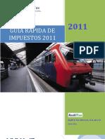 Guia Rapida de Impuestos Auditax - Enero 2011-Final