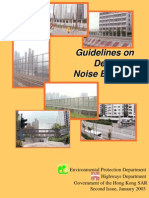 Design Guideline for Noise Barrier