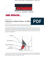 Anatomy of a Boiler Failure-A Different Perspective