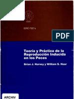 Reproduccion Inducida de Peces (Libro)