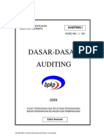 Dasar Auditing Final 2009