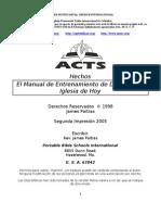 16637787 Hechos El Manual de Entrenamiento de Dios Para La Iglesia de Hoy Nivel A