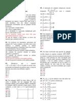 Problemas - Geometria Espacial - Diversos - Cmsm - 30-06