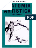 Anatomía Artística del Hombre -Arnould Moreaux