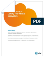 Help Secure and Certify Your Mobile Ecosystem Wp
