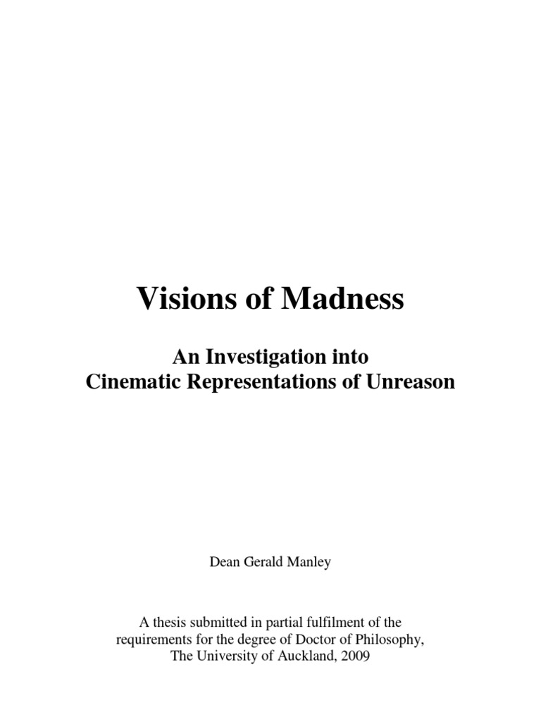 Visions Of Madness Final Print Bh1 Mental Disorder Insanity Sailing Ship Diagram Power Mobydick The Online Annotation