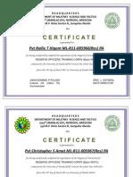 Um Certificate