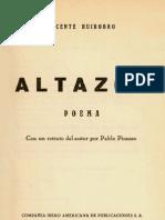 Altazor - Un Viaje en Paracaidas