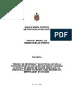 TDR - Mejoramiento Procesos DMGE CT(2) May 2008v3