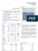 Derivatives Report 26th July 2011