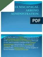 Gloria Macapagal Arroyo Administration