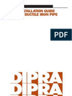 DI Pipe Installation Guide
