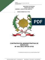 Base de Convocatoria Cas-2011
