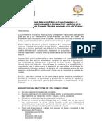 Convocatoria OSC11-1