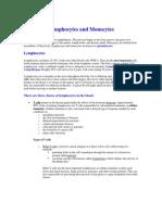 Lymphocytes and Monocytes