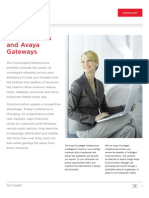 Avaya Aura Server and Gateway Brochure 2009